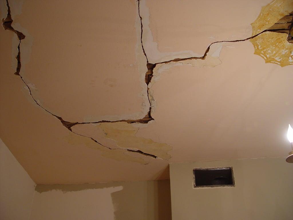 Cracked Ceiling Repair